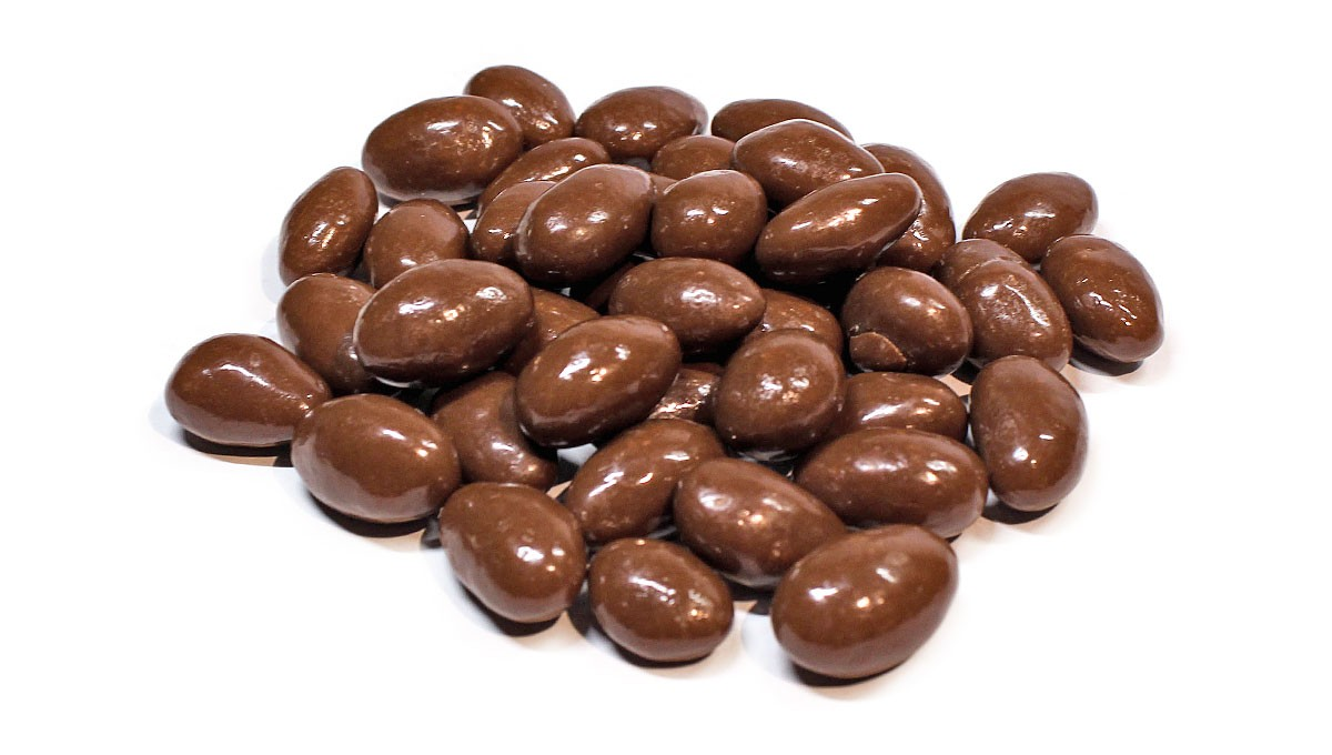 Milk Chocolate Covered Almonds - Bulk by the Pound - Eatnuts.com