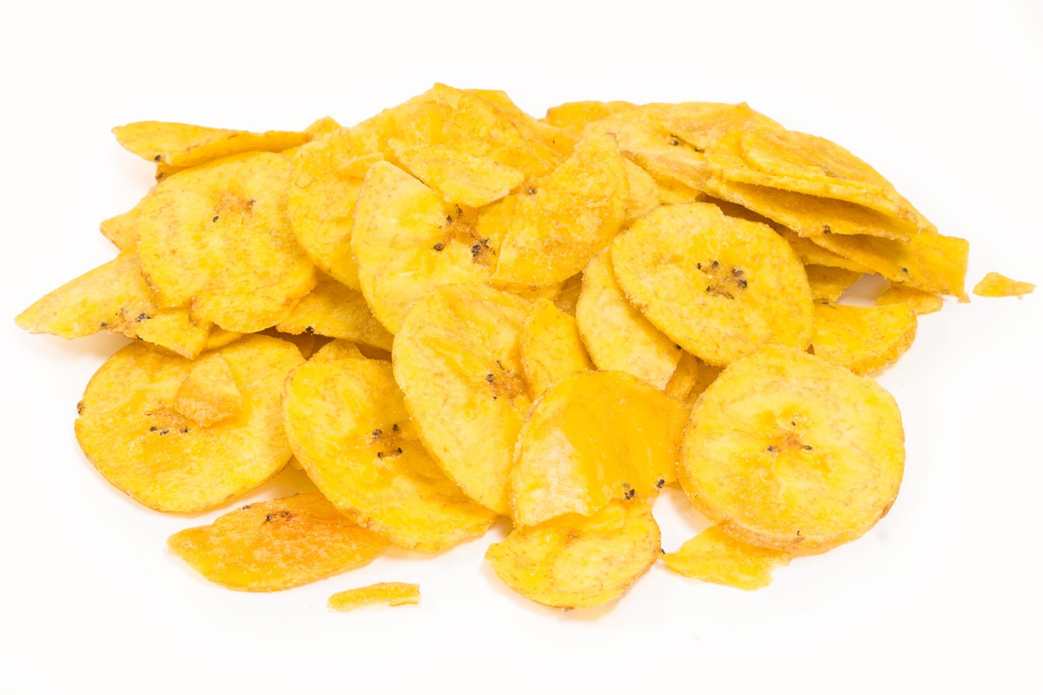 banana chips Bananas are a nutritious food rich in potassium and fiber, which are fried or dehydrated to make banana chips though banana chips supply essential vitamins and minerals, you're better off.