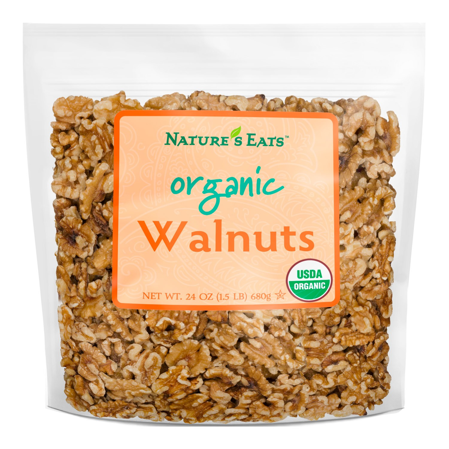 Organic Shelled Walnuts