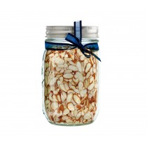 Sliced Almonds Mason Jar