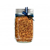 Whole Almonds Mason Jar