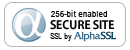 Site secured by Alpha SSL Wild Card Certificate